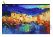 Sunset Over The Village Carry-all Pouch