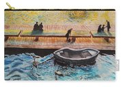 Sunset Scenery By Amsterdam Canal Carry-all Pouch