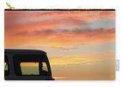 Sunset With The Van Carry-all Pouch