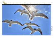 Sunshine And Seagulls Carry-all Pouch