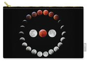 Super Blood Wolf Moon Eclipse Carry-all Pouch