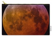 Super Wolf Blood Moon Lunar Eclipse Of 2019 Carry-all Pouch