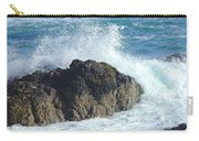 Surf On Rocks Carry-all Pouch