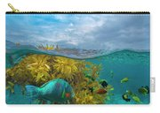 Surf Parrotfish, Damselfish And Basslet Carry-all Pouch