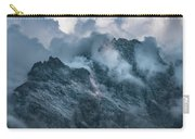 Surrounded By Morning Clouds Carry-all Pouch by Jaroslaw Blaminsky