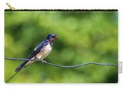 Swallow  Hirundo Rustica  Carry-all Pouch