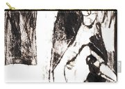 Swans After Mikhail Larionov Black Oil Painting 5 Carry-all Pouch