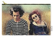 Sweeney Todd And Mrs. Lovett Carry-all Pouch