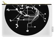 Sydney Black Subway Map Carry-all Pouch