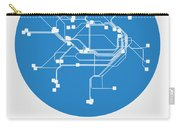 Sydney Blue Subway Map Carry-all Pouch