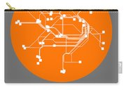 Sydney Orange Subway Map Carry-all Pouch