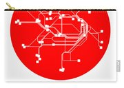 Sydney Red Subway Map Carry-all Pouch