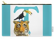 T Is For Two Carry-all Pouch