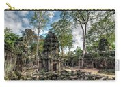 Ta Prohm Temple Inside Angkor Complex, Cambodia. Carry-all Pouch