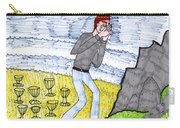Tarot Of The Younger Self Eight Of Cups Carry-all Pouch