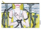Tarot Of The Younger Self Eight Of Swords Carry-all Pouch