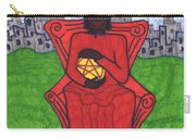 Tarot Of The Younger Self Four Of Pentacles Carry-all Pouch
