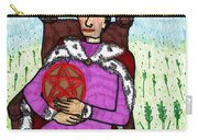 Tarot Of The Younger Self King Of Pentacles Carry-all Pouch