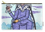 Tarot Of The Younger Self King Of Swords Carry-all Pouch