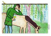 Tarot Of The Younger Self Knight Of Cups Carry-all Pouch