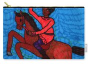 Tarot Of The Younger Self Knight Of Wands Carry-all Pouch