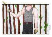 Tarot Of The Younger Self Nine Of Wands Carry-all Pouch