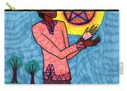 Tarot Of The Younger Self Page Of Pentacles Carry-all Pouch