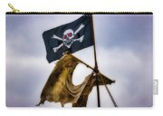 Tattered Sail And Pirate Flag Carry-all Pouch
