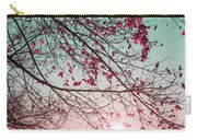 Teal And Fuchsia - Autumn Sunrise Reimagined Carry-all Pouch