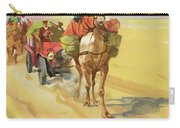 Ten Thousand Mile Motor Race Camel Train Carry-all Pouch