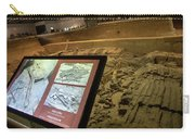 Terra Cotta Warriors In Pit 3 Ruins With Diagram Carry-all Pouch