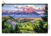 Grand Teton National Park Snake River Carry-all Pouch