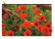 Texas Hill Country Wildflowers Carry-all Pouch