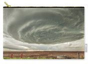 Texas Panhandle Wall Cloud Carry-all Pouch by Scott Cordell