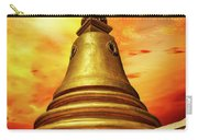 Thai Temple Sunset Carry-all Pouch by Adrian Evans