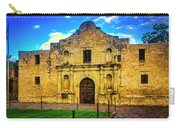 The Alamo Mission Carry-all Pouch