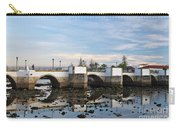 The Antique Bridge Of Tavira. Portugal Carry-all Pouch