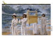 The Ark Passes Over The Jordan, 1902 Carry-all Pouch