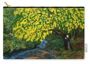The Artistic Spirit Of Judy Doggett Walker In Blackley Forest Carry-all Pouch