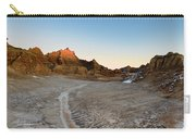 The Badlands And A Sunrise Carry-all Pouch