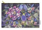 The Beauty Of Flowers Carry-all Pouch by Ryn Shell