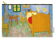The Bedroom At Arles - Digital Remastered Edition Carry-all Pouch