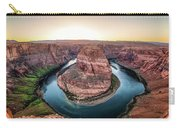 The Bend - Horseshoe Bend At Sunset In Arizona Carry-all Pouch