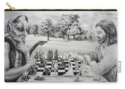 The Chess Game Carry-all Pouch