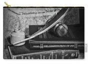 The Constitutional Lawyer In Black And White Carry-all Pouch