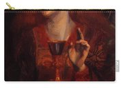 The Damsel Of The Sanct Grail Carry-all Pouch