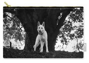 The Dog And The Tree Carry-all Pouch