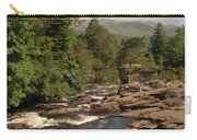 The Falls Of Dochart And Bridge At Killin In Scottish Highlands Carry-all Pouch