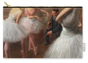The First Pose, The Ballet Lesson Carry-all Pouch