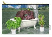 The Hippo Tub Carry-all Pouch